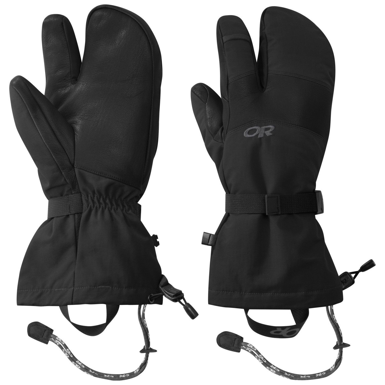 Outdoor Research Highcamp 3Finger, guantes-manoplas tridedos