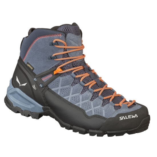 Salewa Alp Trainer Mid GTX - Ombre Blue/Fluo Orange