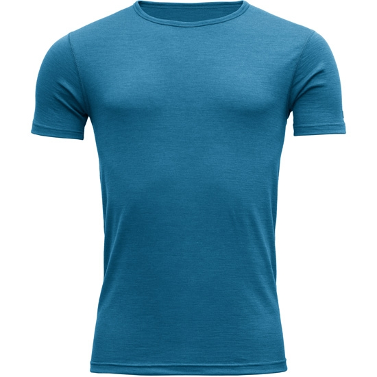 Devold Breeze T-Shirt - Blue Melange