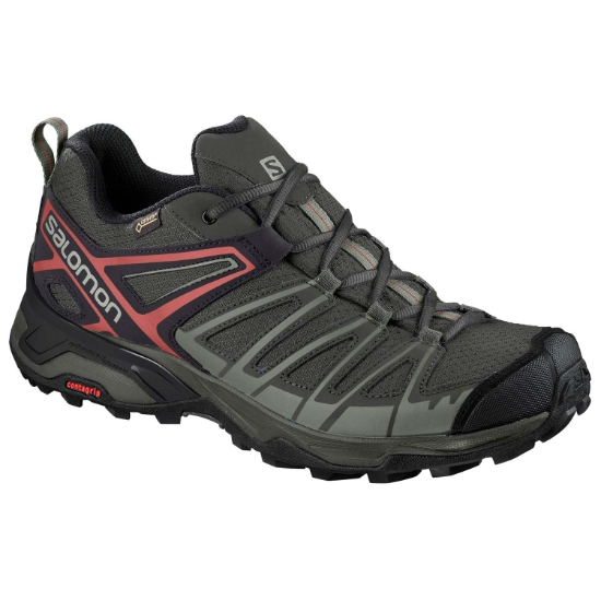 Salomon X Ultra 3 Prime GTX - Castor Gray/Shadow/Bossa Nova