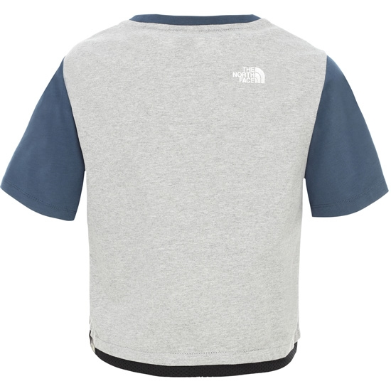 The North Face Cropped S/S Tee Girl - Foto de detalle