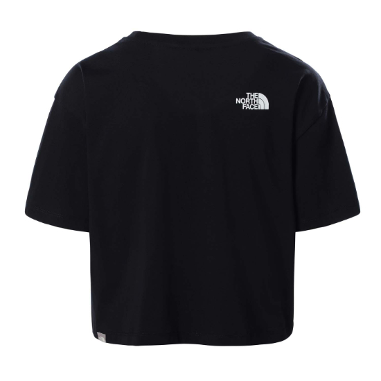 The North Face Easy Cropped Tee W - Foto de detalle