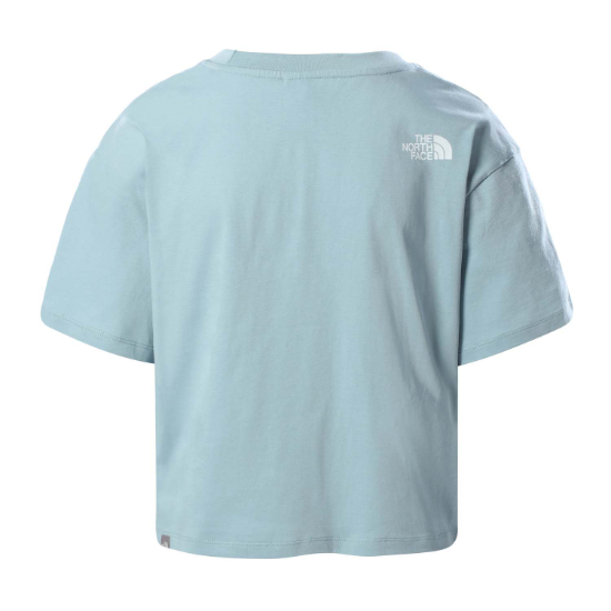 The North Face Cropped Simple Dome Tee W - Foto de detalle