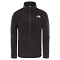 The North Face Snow Quest Full Zip Youth - TNF Black/TNF White