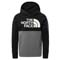 The North Face Surgent Pullover Block Hoodie Boy - TNF Medium Grey