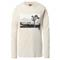 The North Face Graphic LS Tee W - Vintage White