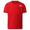 The North Face True Run S/S Shirt - Red