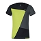 Montura Outdoor Color Block T-Shirt Kids - Acid Green